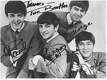 Heights of great musicians reached - the beatles