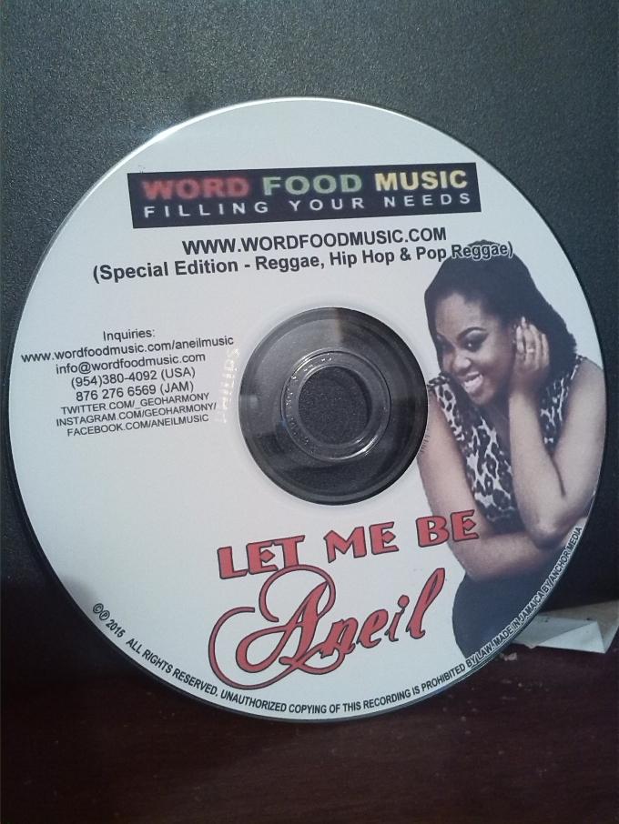 Aneil media Promo CD image