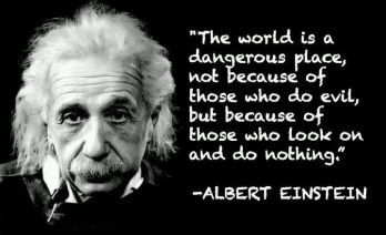 Einstein dangerious world
